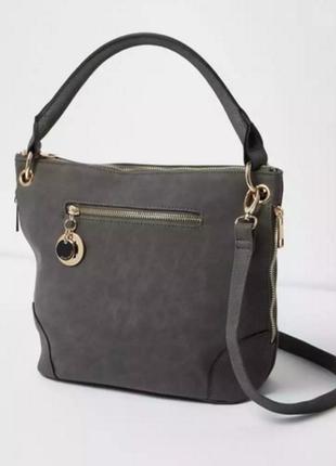 Новая фирменная красивая сумка из нубука / англия