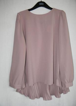 Новая блуза плиссе zanzea