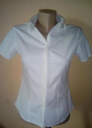 Рубашка- блуза.белая рубашка.женская белая рубашка.белая блуза
