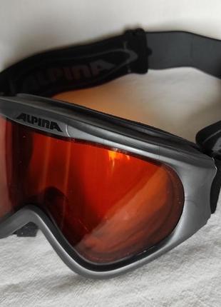 Горнолыжная маска лыжная alpina