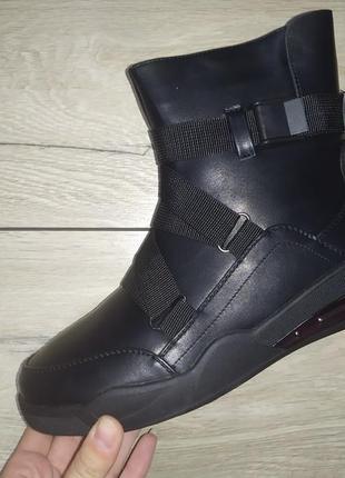 Теплые ботинки 🍁❄️ зима осень холодная на меху спортивные