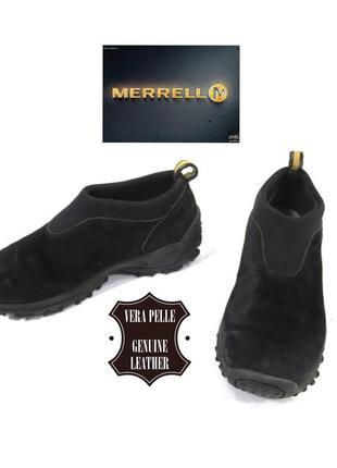 Merrell winter moc замшевые комфортные кроссовки
