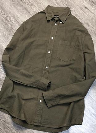 Рубашка fit h&m