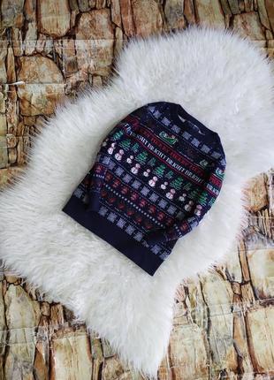 Новогодний свитер кофта для мальчика
