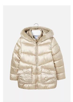 Зимняя куртка-пальто для девочки mayoral