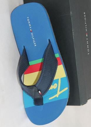 Шлепанцы фирма tommy hilfiger, амер.8м, европ.41 стельк. -27 см