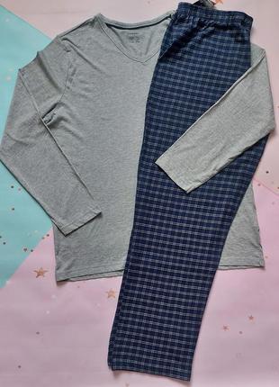 Пижама livergy верх и низ трикотаж размер: хl