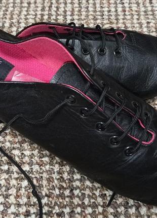 Танцевальные туфли джазовки 1st position кожа. размер 34