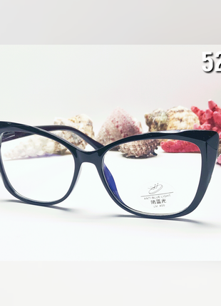 Красивые имиджевые  женские компьютерные очки с flex  дужками