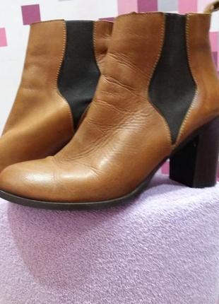 Шкіряні ботинки