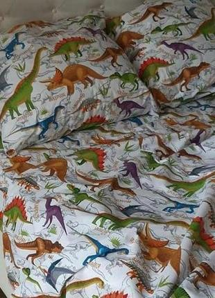 Комплект постельного белья динозавры