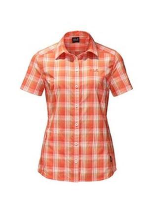 Jack wolfskin р. 46 48 на рост 175 см женская рубашка с терморегуляцией тенниска блузка