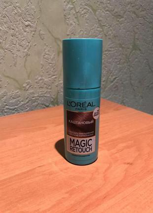 Loreal magic retouch тонирующий спрей для корней волос (так же для веснушек 😋)