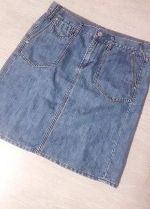 Стильная джинсовая юбка gap оригинал