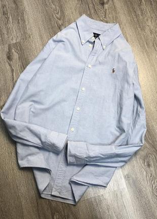Рубашка ralph lauren custom fit