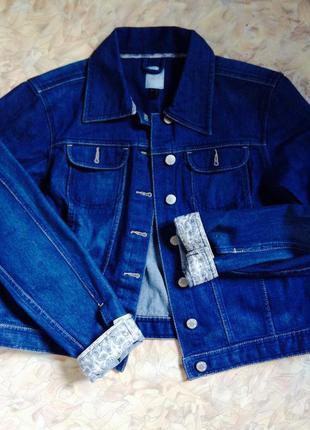 Джинсовка, джинсовая куртка пиджак tcm +size