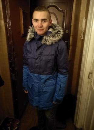 Зимняя куртка staff