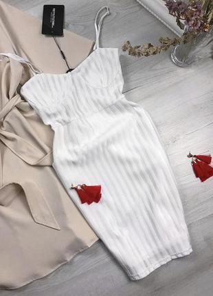 Новое очень эффектное платье
