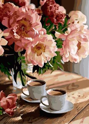 Картина по номерам романтическое настроение кно3080