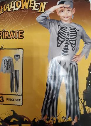 Детский карнавальный костюм пират на хеллоуин