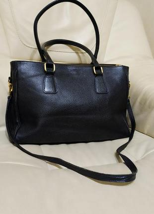 Фирменная сумка vera pelle.италия.кожа