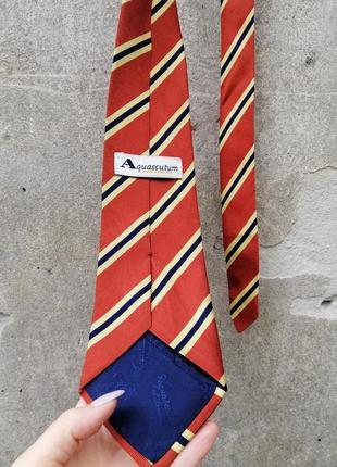 Винтаж галстук aquascutum