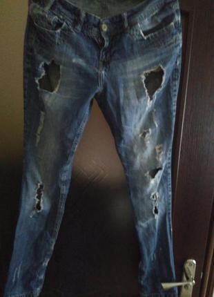 Рваные джинсики,не дорого