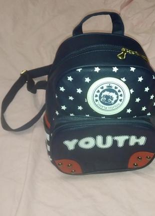 Кожа pu школьный  рюкзак для подростков, портфель, городской рюкзак миди