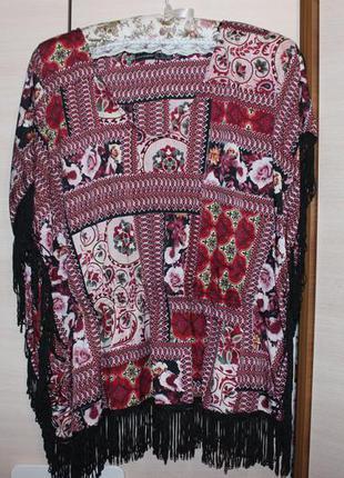 Парео накидка блузка
