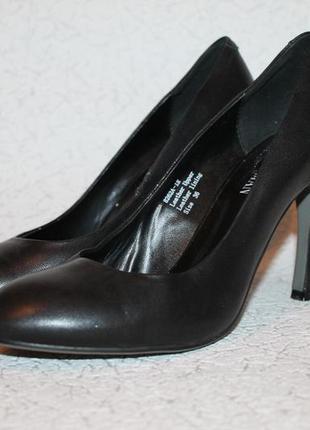 Туфли лодочки натуральная кожа 36 размер 23,5 см стелька