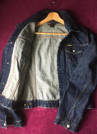 Джинсовая куртка джинсовка