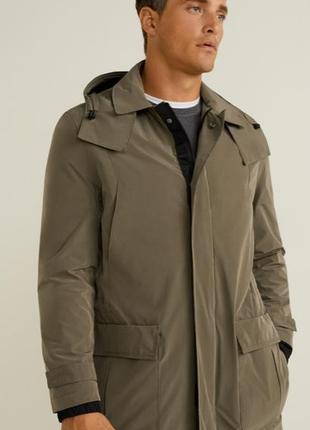 Стильная парка, дождевик, куртка mango