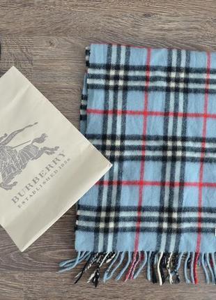 Классический шарф приятная клетчатая расцветка burberreys ®