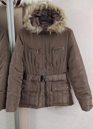 F&f актуальная стильная куртка, еврозима, р.12-40