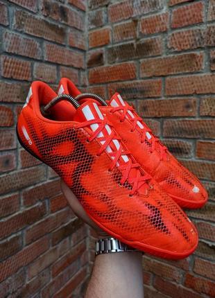 Футзалки adidas adizero f10 in размер 47 (30,3 см.)