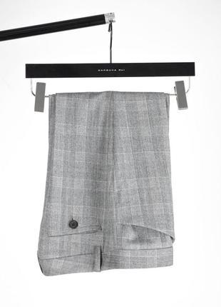 Шерстяные брюки - клёш в клетку barbara bui оригинал