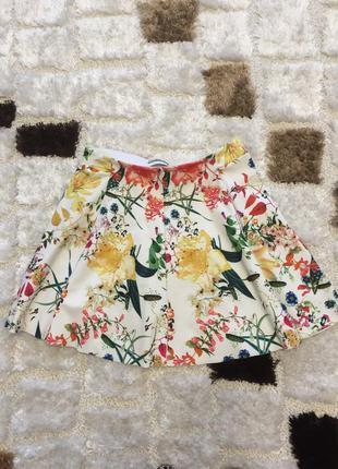 Продам стильную цветную юбку бершка!