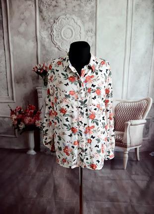 Стильная рубашка блузка вискоза