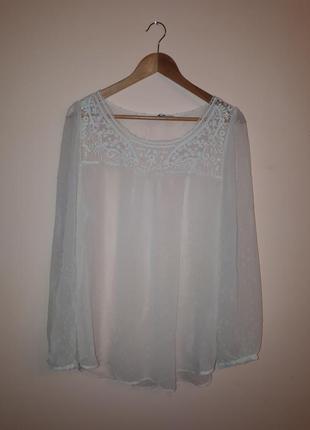 Шифоновая блуза в пупырушку, блузка, туника