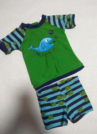 Купальный/солнцезащитный костюм ricochet 80/86,плавки футболка купальная,сонцезахисний