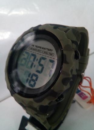 Водозащищенные мужские часы электронные skmei 1625 на ремешке