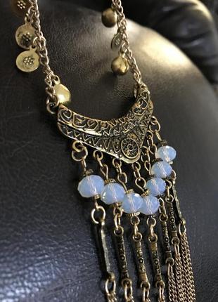 Шикарное ожерелье в  бохо стиле