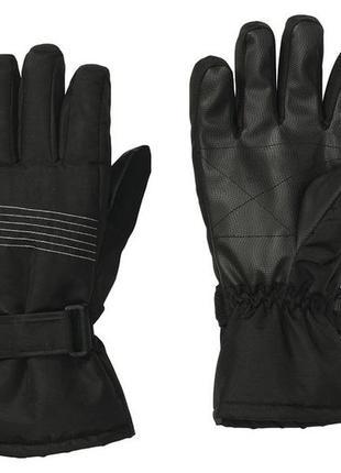 Мужские краги лыжные перчатки crivit men's ski gloves, 8.5
