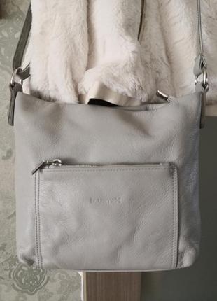 Роскошная кожаная сумка на длинном ремешке bluemex, vera pelle👜👜👜💣✨💥