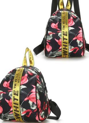 Тканевый рюкзак,не пропускает воду