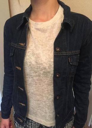 Джинсовый пиджак levi's