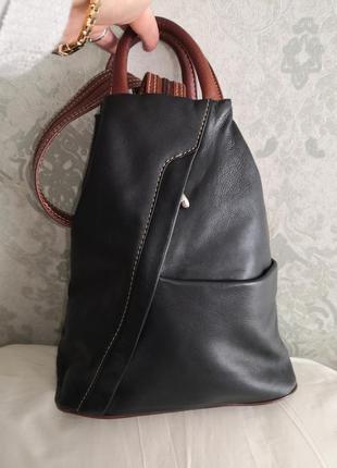 Мега стильный и качественный кожаный рюкзак nova leathers  👜👜💣✨💥