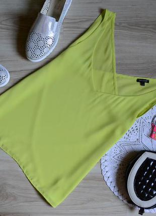 Майка блуза актуальна лимонного кольору river island