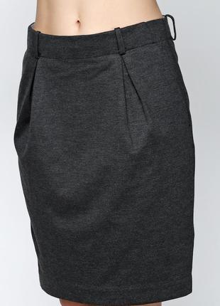 Демисезонная юбка, плотный трикотаж, датского бренда and less, р. s-m