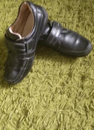Туфлі хлопчачі/35 розмір/кожа натуральна